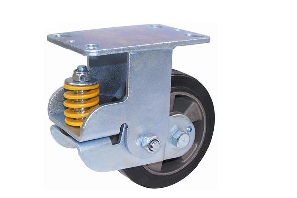 防震-铝芯橡胶固定轮