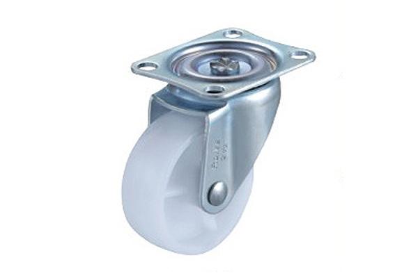 重庆工业脚轮-小型白尼龙脚轮