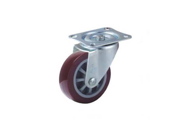 小型高强度聚氨酯脚轮