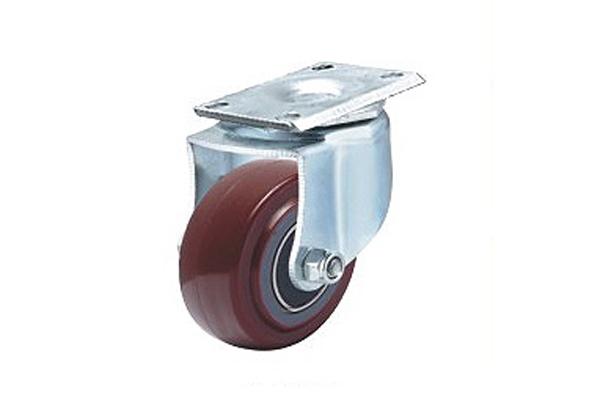 轻型双轴承高强度聚氨酯脚轮