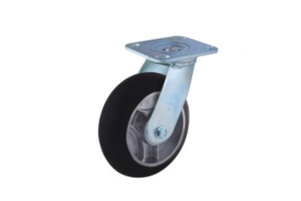重型铝芯高弹性橡胶轮