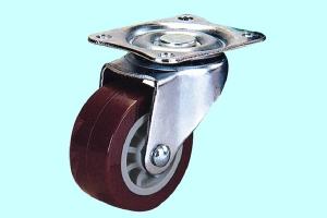超级聚氨酯轮-红色