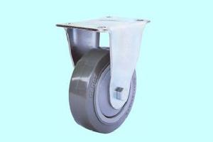 超静聚氨酯轮-灰色平边