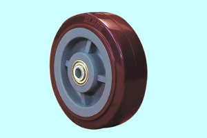 超级聚氨脂单轮(红色)