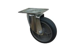 10系列平板式脚轮