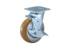 重庆重型脚轮-重型合金PU脚轮
