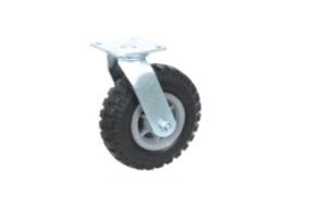 重型实心橡胶脚轮