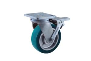 超重型合金PU脚轮
