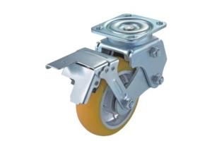 精密减震型优力铝芯PU脚轮